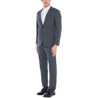 《セール開催中》GIORGIO ARMANI メンズ スーツ 鉛色 50 バージンウール 100%