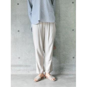 【オンワード】 koe(コエ) リネンテーパードパンツ Light Beige M レディース 【送料無料】