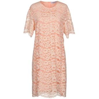 《セール開催中》BLUMARINE レディース ミニワンピース&ドレス サーモンピンク 48 ナイロン 60% / コットン 40%