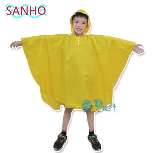 sanho可愛熊尼龍兒童雨披(三色)