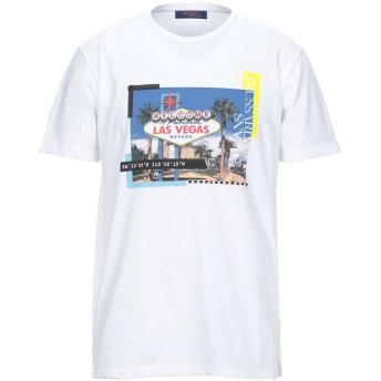 《セール開催中》TRUSSARDI JEANS メンズ T シャツ ホワイト S コットン 100%