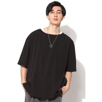 シャツ - SPINNS【MEN】 ネックレス付アンサンブルオープンカラーシャツ