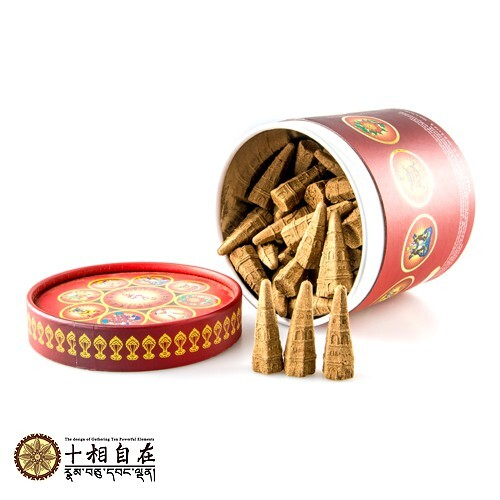 (格林)十相自在 西藏除障香塔 總集香