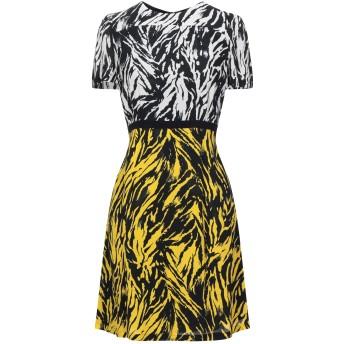 《セール開催中》N°21 レディース ミニワンピース&ドレス イエロー 40 レーヨン 100% / アセテート / シルク