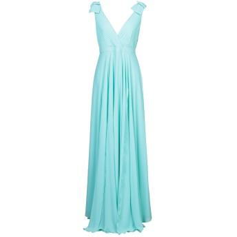 《セール開催中》DIVEDIVINE レディース ロングワンピース&ドレス ターコイズブルー 44 ポリエステル 100%