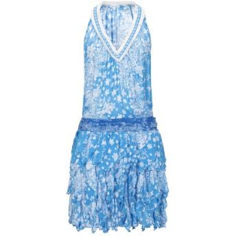 《セール開催中》POUPETTE ST BARTH レディース ミニワンピース&ドレス アジュールブルー M レーヨン 100%