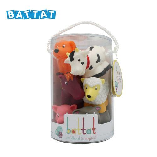 美國【B.Toys】洗澡玩具-農場_Battat系列★衛立兒生活館★