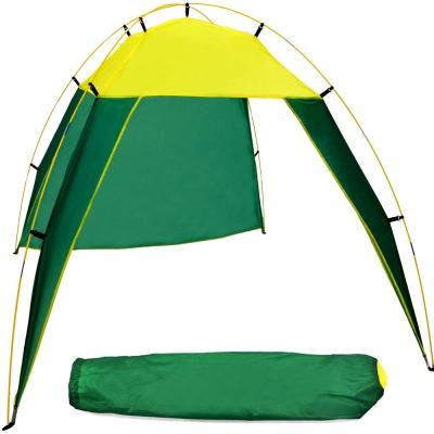 230X210休閒海灘帳棚 附收納袋+營釘 沙灘帳篷D001-0492