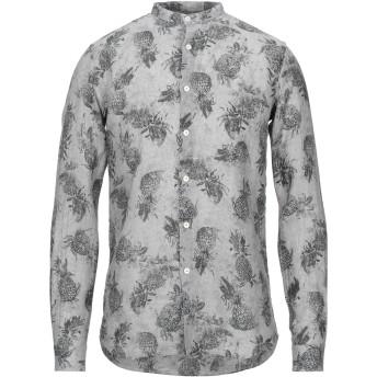 《セール開催中》ALESSANDRO GHERARDI メンズ シャツ グレー M リネン 100%