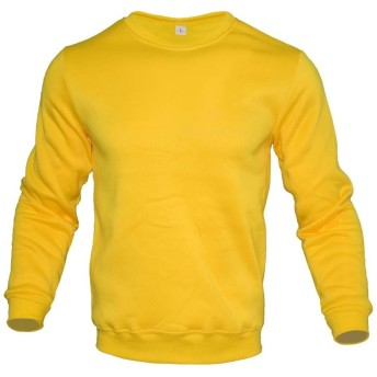 ZhujiaN 男性と女性のためのラウンドネックのシャツとメンズセーター、レクリエーションスポーツのストリートスタイル、 (色 : Yellow-King Mamba, Size : XXL)