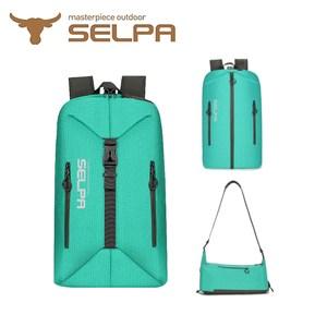 【韓國SELPA】23L翻轉背包/登山包/露營包/手提包(五色任選)紅色