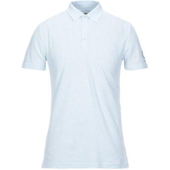 《セール開催中》SUNSTRIPES メンズ ポロシャツ スカイブルー S コットン 100%