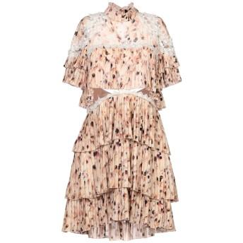 《セール開催中》ELISABETTA FRANCHI レディース ミニワンピース&ドレス ローズピンク 44 ポリエステル 100% / コットン / ナイロン