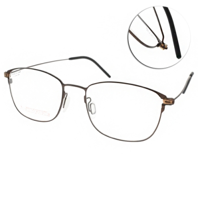 VYCOZ 眼鏡 韓風質感方框款 霧棕 VL907 BRN