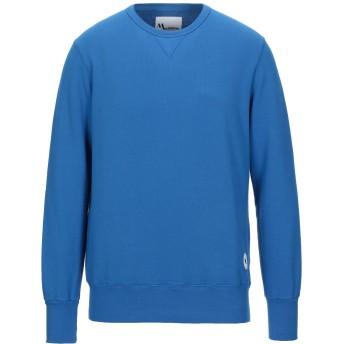 《セール開催中》DOPPIAA メンズ スウェットシャツ ブルー L コットン 100%
