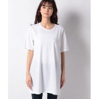(SISLEY/シスレー レディス)ボーイフィットベーシック半袖Tシャツ・カットソー/レディース ホワイト