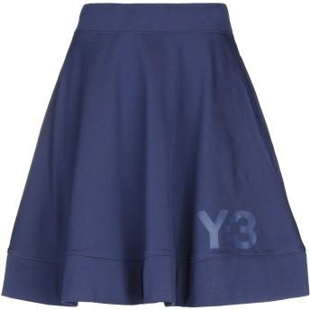 《セール開催中》Y-3 レディース ひざ丈スカート ダークブルー XXS コットン 100%