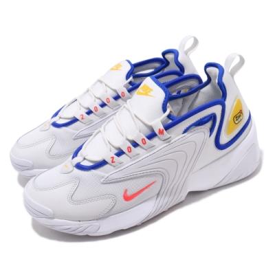 品牌: NIKE 型號: AO0269-005 品名: Zoom 2K 特點: 海外限定 氣墊 復古 穿搭 球鞋 白 藍