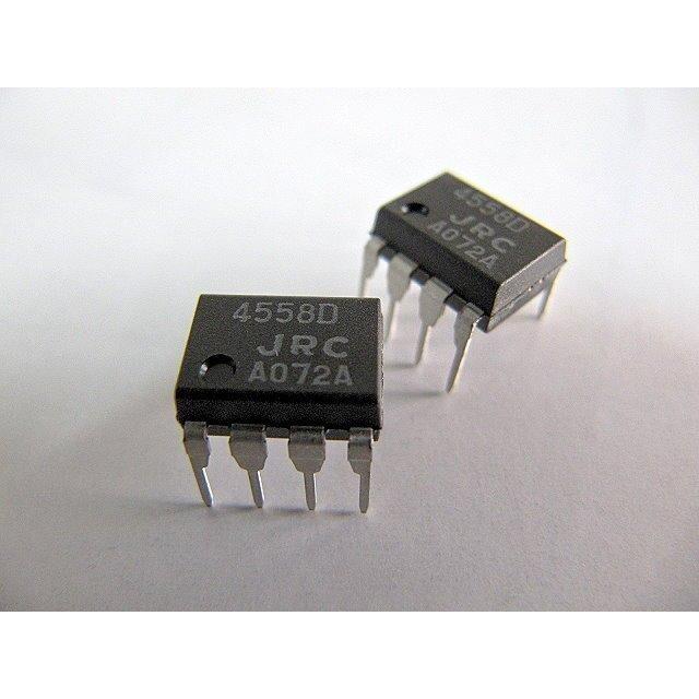ic  jrc 4558 ( 4558d ) dip-8 雙運算放大器  5顆/入
