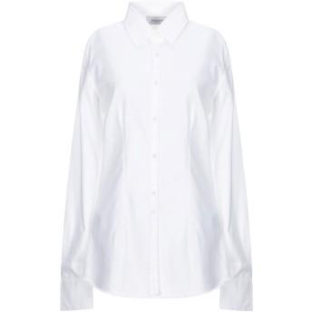 《セール開催中》AGLINI レディース シャツ ホワイト 46 コットン 100%