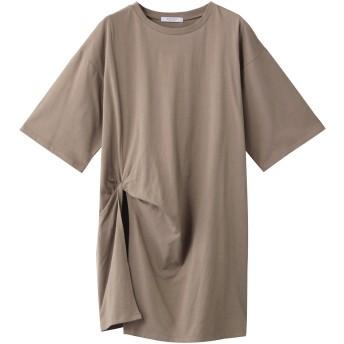 SALE 【40%OFF】 ROSE BUD ローズバッド ねじりチュニックTシャツ ベージュ