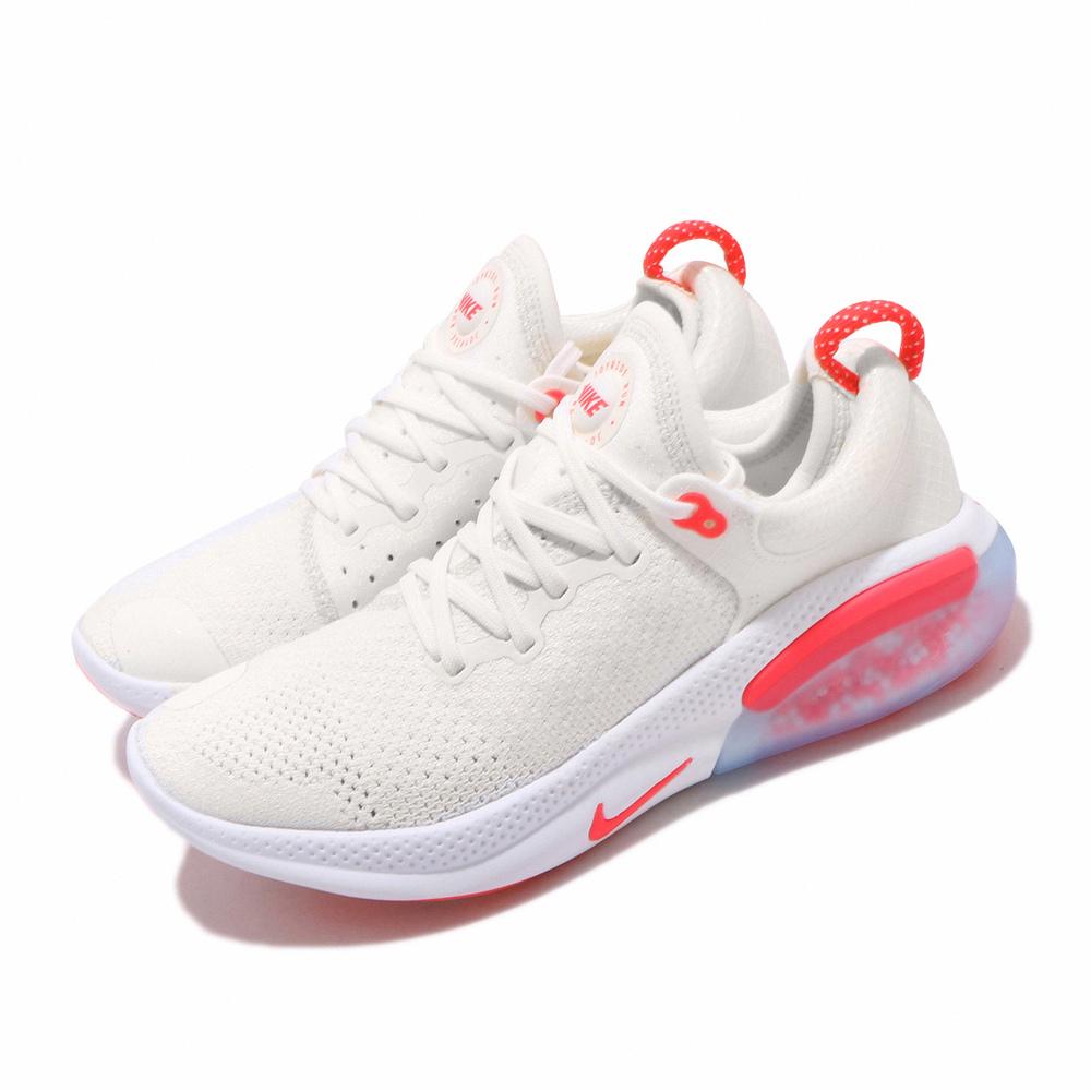 NIKE 慢跑鞋 Joyride Run 襪套 女鞋 輕量 透氣 舒適 避震 新科技 球鞋 米白 紅 [AQ2731-102]