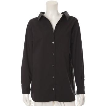 INED L 《大きいサイズ》リラクシードロップショルダーシャツ シャツ・ブラウス,スミクロ5