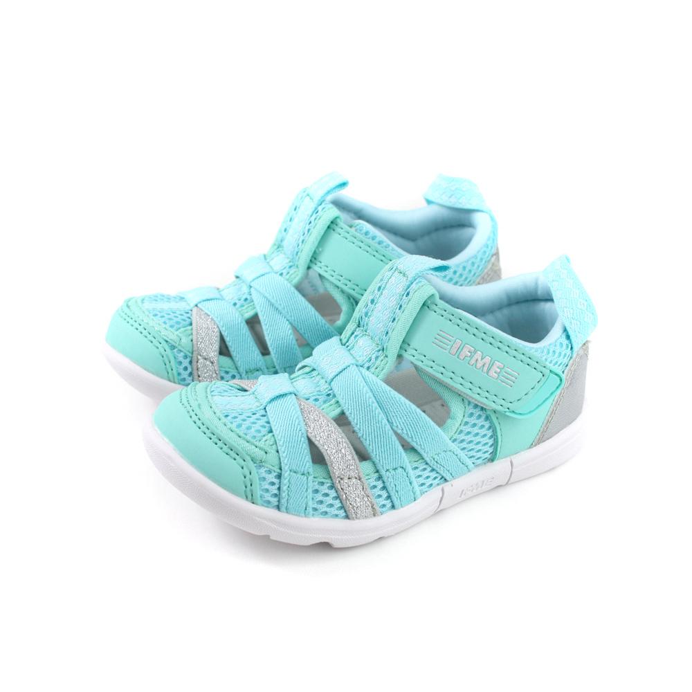 IFME 休閒運動鞋 簍空 粉綠色 中童 童鞋 IF22-011904 no141 15~19cm