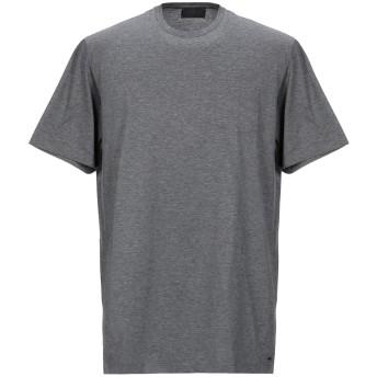 《セール開催中》LES COPAINS メンズ T シャツ ダークブルー 56 コットン 100%
