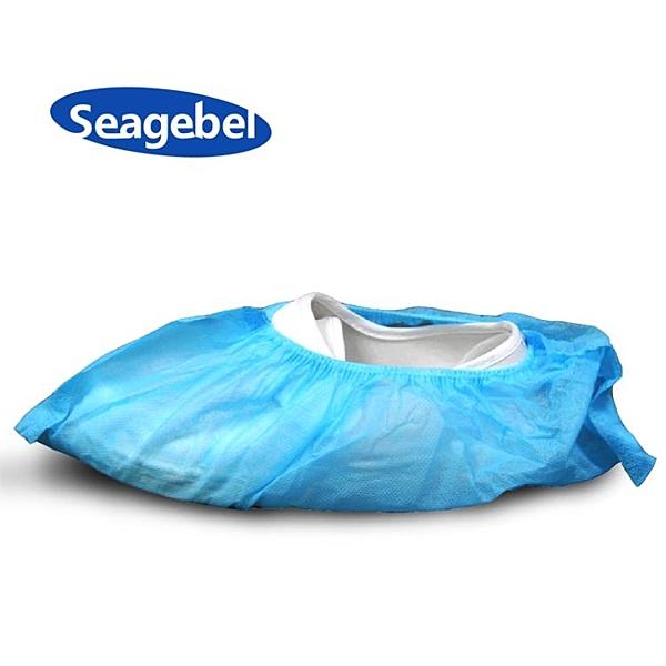 SEAGEBEL 加厚一次性防塵鞋套 無紡布鞋套 防塵腳套 100只裝 瑪麗蘇