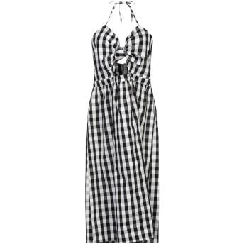 《セール開催中》GLAMOROUS レディース 7分丈ワンピース・ドレス ブラック L コットン 100%