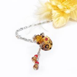 AK~香氛珠寶-豹紋小可愛精油鍊/精油香氛項鍊/香氛飾品