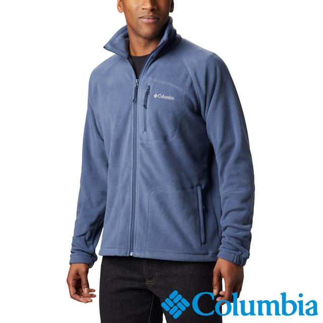 Columbia哥倫比亞 男款-刷毛外套-墨藍 UAE30390IB