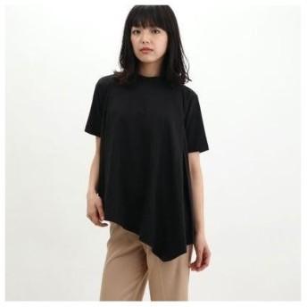 オーディション AUDITION プレーティングフレアーTシャツ (ブラック)
