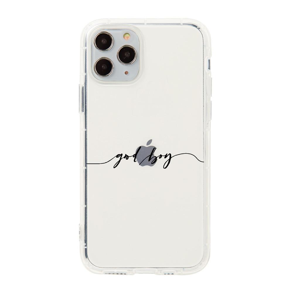 【客製名字】心動心跳專屬名字透明iPhone手機殼