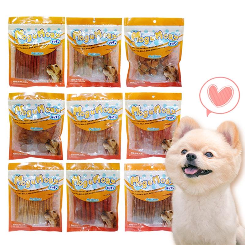 寵物零食【買六送一 台灣製造 大包裝】沛樂芙犬用零食 寵物訓練 狗零食 潔牙零食 高蛋白 低脂肪 肉乾 肉條 潔牙棒