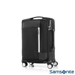Samsonite新秀麗 20吋Bricter極強內裝防盜拉鍊布面TSA登機箱(黑)GU7*09001