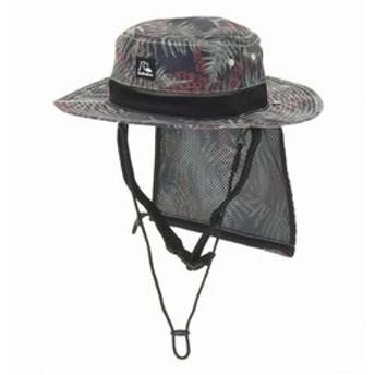 【クイックシルバー:スポーツ】UV WATER CAMP HAT PRT UPF50+ パッカブル サーフハット