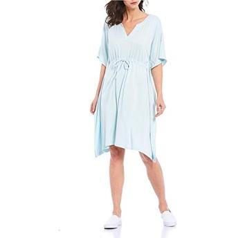 Tommy Bahama トップス ワンピース Island Soft Sea Coast Caftan Dress Sky Mist レディース [並行輸入品]