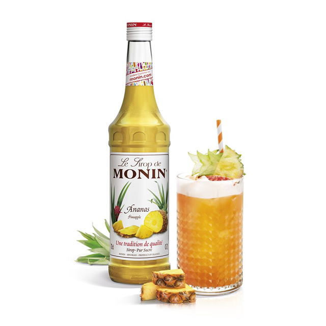 開元食品 Monin糖漿-鳳梨700ml