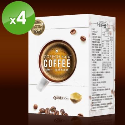 【COFFCO】蘇逸洪推薦世界發明金獎防彈黑咖啡*4盒(7包/盒)