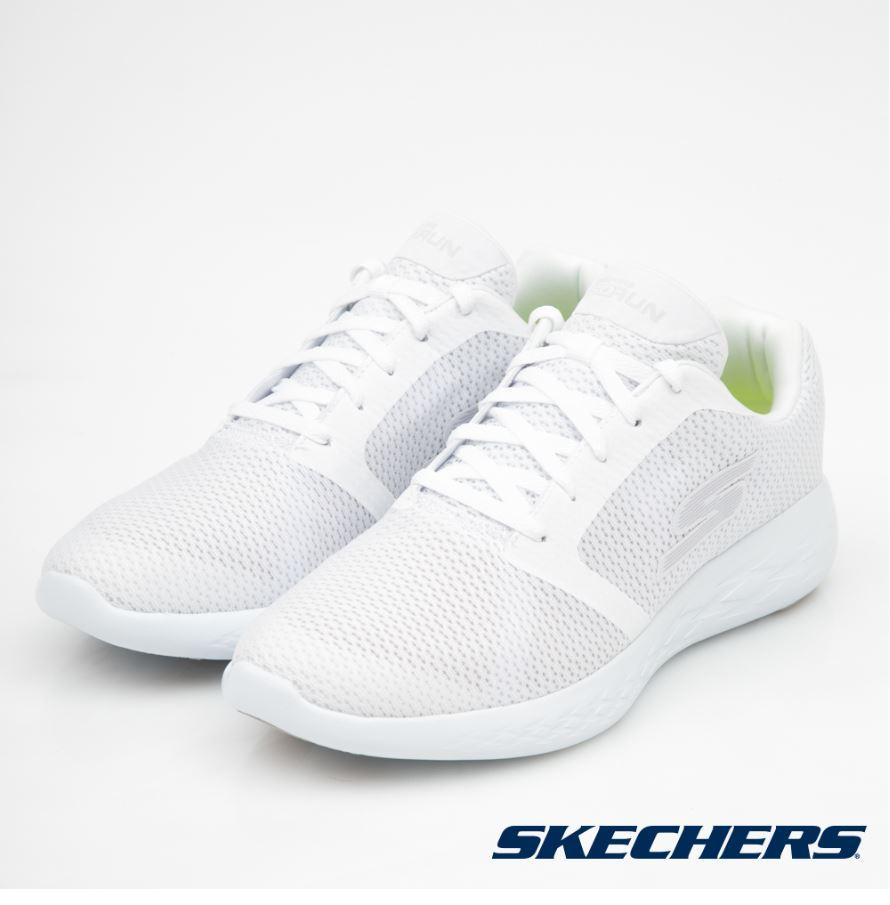 SKECHERS 跑步系列 GO RUN 600 男運動鞋 55061WHT