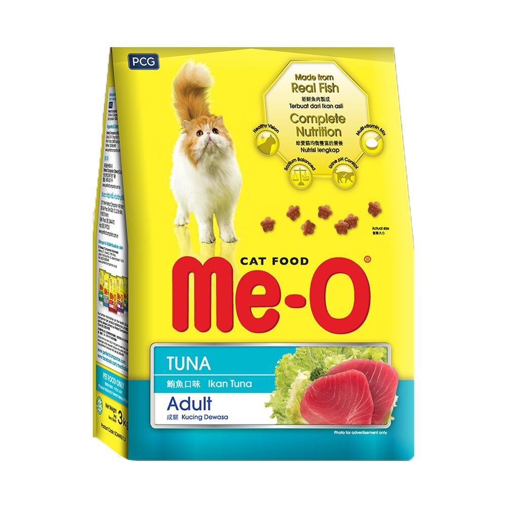 Me-O 咪歐乾貓糧 - 鮪魚口味 3kg