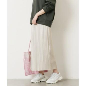 JOURNAL STANDARD ジョーゼットサテンスカート◆ ナチュラル 36