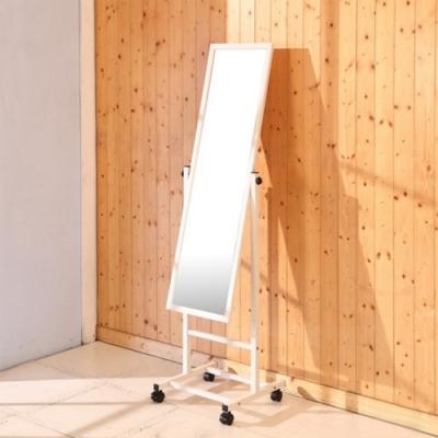 佳美 台灣製簡易DIY可移動式立鏡(1入)穿衣鏡 化妝鏡 長鏡