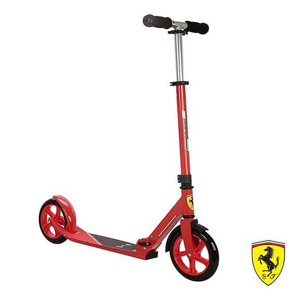 ferrari兩輪折疊減震滑板/滑行車-紅