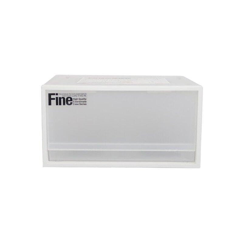 聯府透白抽屜整理箱單抽屜收納櫃-大廚師百貨
