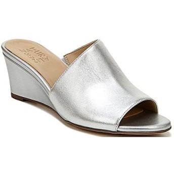 [ナチュライザー Naturalizer] シューズ サンダル Sansa Leather Wedge Dress Sandals Silver レディース [並行輸入品]