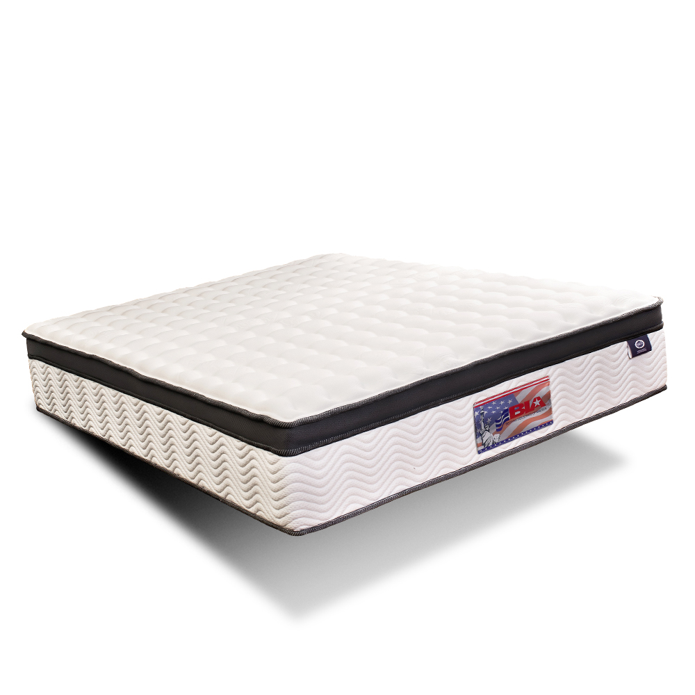 美國BIA名床-San Francisco 獨立筒床墊-6尺加大雙人