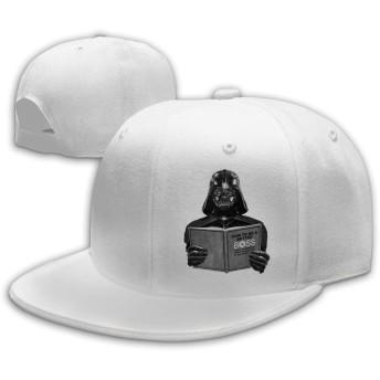 KAWAHATA スターウォーズ 人気 平らつば キャップ メンズ レディース 帽子 春 夏 綿100% サイズ調節可 野球帽 ヒップホップ風 登山 旅行 UVカット